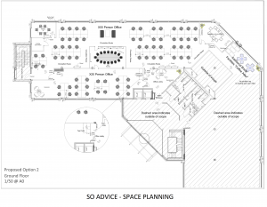 Office floor plan by SO Advice