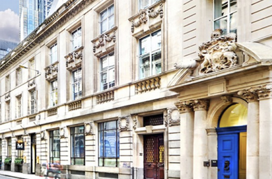 Serviced offices in Threadneedle St, London