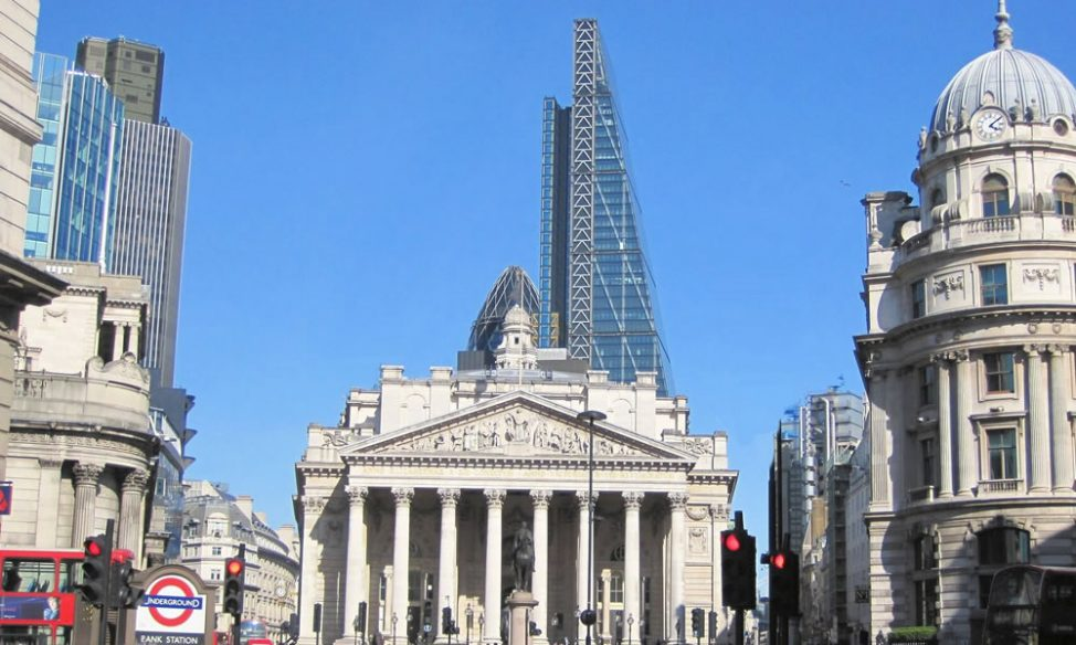 Bank serviced offices area guide