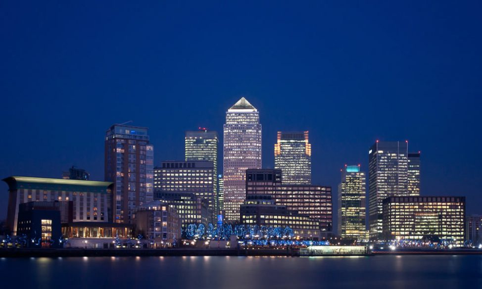 Renting offices in Canary Wharf